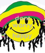 dont worry be happy  - Personalised Poster A4 size