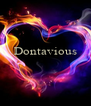 Dontavious    - Personalised Poster A4 size