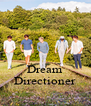 Dream Directioner - Personalised Poster A4 size