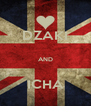 DZAKI  AND  ICHA - Personalised Poster A4 size