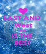 EAST AND  West Jassi IS THE  BEST - Personalised Poster A4 size
