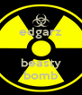edgarz   beasty bomb - Personalised Poster A4 size