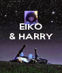EIKO & HARRY    - Personalised Poster A4 size