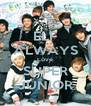 ELF ALWAYS Love SUPER JUNIOR - Personalised Poster A4 size