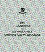EM  JANEIRO TEM ESTREIA NO UNHAS COM GRAXAS - Personalised Poster A4 size