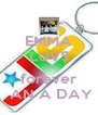 EMMA LUVS JLS forever  AN A DAY - Personalised Poster A4 size