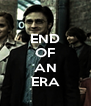 END OF  AN ERA - Personalised Poster A4 size