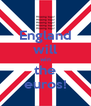 England will win the euros! - Personalised Poster A4 size