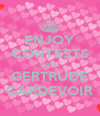 ENJOY CONTESTS WITH GERTRUDE GARDEVOIR - Personalised Poster A4 size