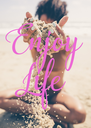 Enjoy Life - Personalised Poster A4 size