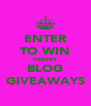 ENTER TO WIN PREPPY BLOG GIVEAWAYS - Personalised Poster A4 size
