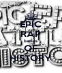 EPIC RAP battles OF HISTORY - Personalised Poster A4 size
