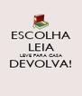 ESCOLHA LEIA LEVE PARA CASA DEVOLVA!  - Personalised Poster A4 size