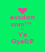 essdoπ snm'™  is Ya Gyall:P - Personalised Poster A4 size