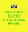 ESSE BUHO SOU EU TOUR VERÃO 2014 S. CATARINA BRASIL - Personalised Poster A4 size