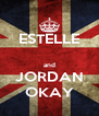 ESTELLE  and JORDAN OKAY - Personalised Poster A4 size