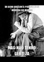 EU ACHO QUE SOU A PESSOA MAIS INDECISA DO MUNDO MAS NÃO TENHO CERTEZA - Personalised Poster A4 size