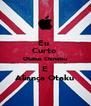 Eu  Curto  Otakus Chinatsu E Aliança Otaku - Personalised Poster A4 size