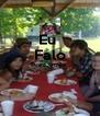 Eu  Falo Português    - Personalised Poster A4 size