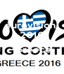 eurovision  2016    Greece   - Personalised Poster A4 size
