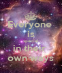 Everyone  is special in their  own ways - Personalised Poster A4 size