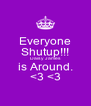 Everyone Shutup!!! Daisy James is Around. <3 <3 - Personalised Poster A4 size