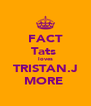 FACT Tats  loves TRISTAN.J MORE♡ - Personalised Poster A4 size