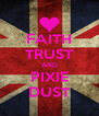 FAITH TRUST AND PIXIE DUST - Personalised Poster A4 size