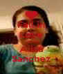 Fall in Love With Aliza Sanchez - Personalised Poster A4 size