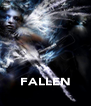 FALLEN - Personalised Poster A4 size