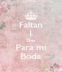Faltan 1 Dias Para mi Boda - Personalised Poster A4 size
