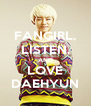 FANGIRL, LISTEN, AND LOVE DAEHYUN - Personalised Poster A4 size