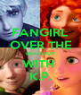 FANGIRL OVER THE BIG FOUR WITH  K.P. - Personalised Poster A4 size