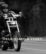 FELICIDADES TONY - Personalised Poster A4 size