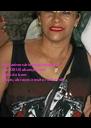 Feliz aniversário amiga querida, que DEUS abençoe com tudo de bom. Beijos, abraços e muito rock n´roll. - Personalised Poster A4 size