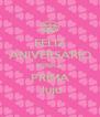 FELIZ ANIVERSÁRIO MINHA PRIMA Juju - Personalised Poster A4 size