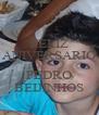 FELIZ ANIVERSARIO  PEDRO BEIJINHOS - Personalised Poster A4 size