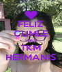 FELIZ CUMLE LALII TKM HERMANIS - Personalised Poster A4 size