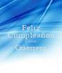 Feliz Cumpleaños Carlos Guerrero  - Personalised Poster A4 size