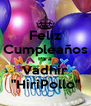 "Feliz Cumpleaños Para Vadhir ""HiriPollo"" - Personalised Poster A4 size"