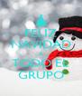 FELIZ NAVIDAD A TODO EL GRUPO - Personalised Poster A4 size