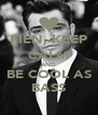 FIEN, KEEP CALM AND BE COOL AS BASS - Personalised Poster A4 size