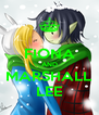 FIONA AND MARSHALL LEE - Personalised Poster A4 size
