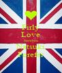 Firly Love Isambau Natsuki Forefer - Personalised Poster A4 size