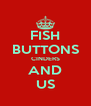 FISH BUTTONS CINDERS AND US - Personalised Poster A4 size