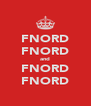 FNORD FNORD and FNORD FNORD - Personalised Poster A4 size