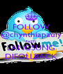 FOLLOW @chynthiapauly PASTI LANGSUNG DIFOLLBACK - Personalised Poster A4 size