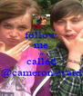 follow me im called @cameronsward - Personalised Poster A4 size