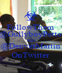 FollowThem @GullyboyPetto AND @DenverMartin OnTwitter - Personalised Poster A4 size