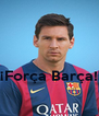¡Força Barça!  - Personalised Poster A4 size